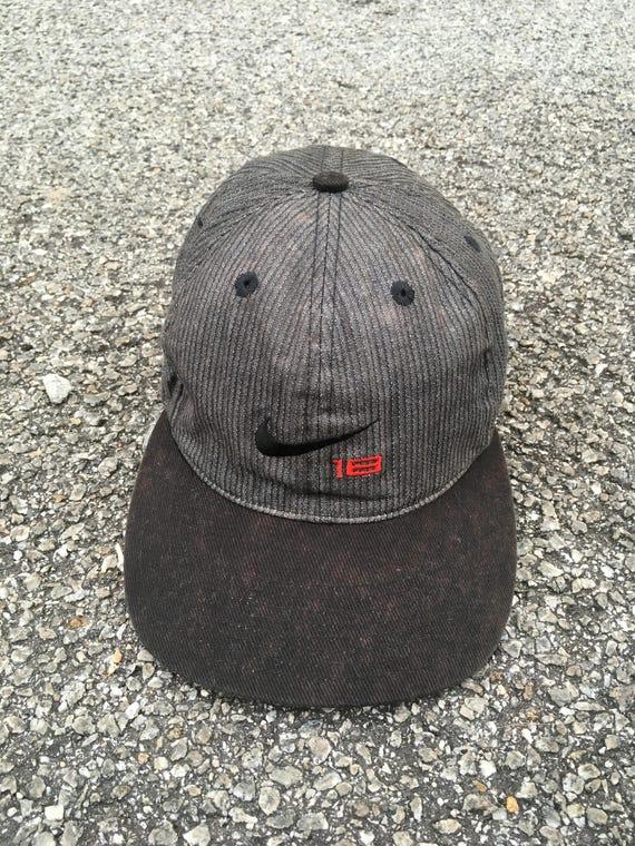 772e20a00ad8f ... inexpensive nike swoosh cap vintage 90s nike sportswear cap snapback  etsy 312d9 332b0