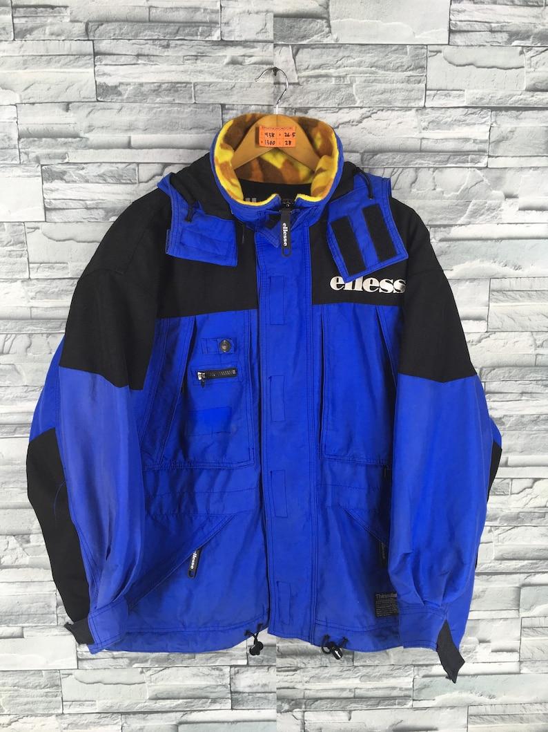 Vintage ELLESSE ITALY Jacket Skiing Medium 90 s Ellesse  2a1b704f9