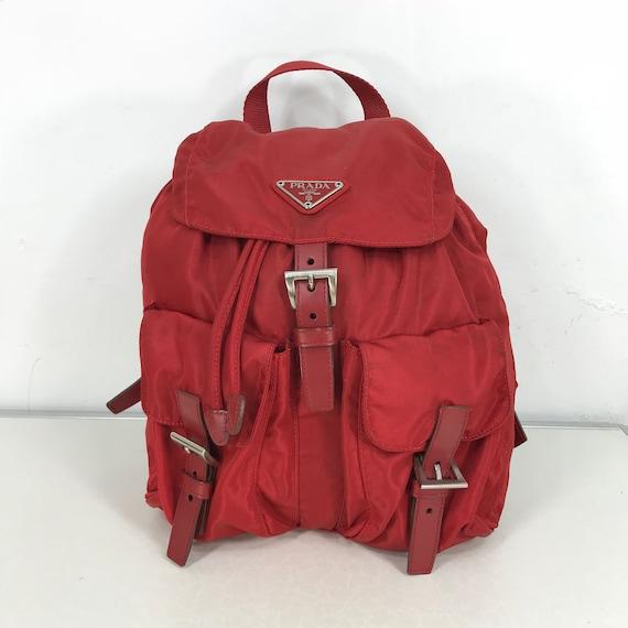 3f371fe1b51 Prada Milano Vintage Authentic Rucksack Made In Italy Prada   Etsy