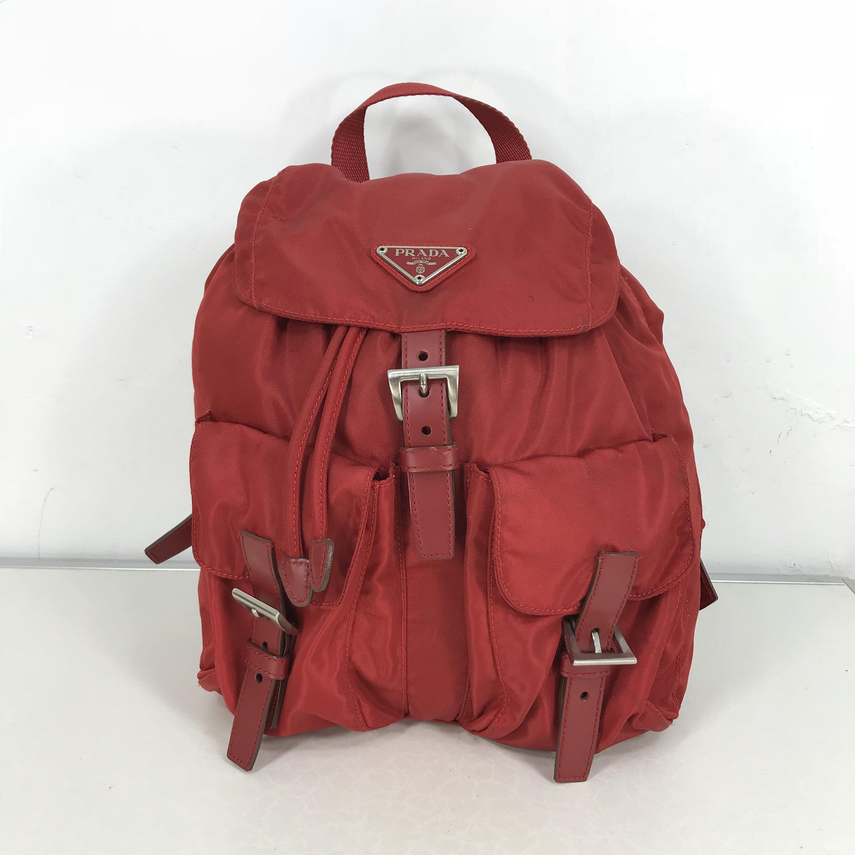 dc7db4a571a97b Prada Milano Vintage Authentic Rucksack Made In Italy Prada   Etsy