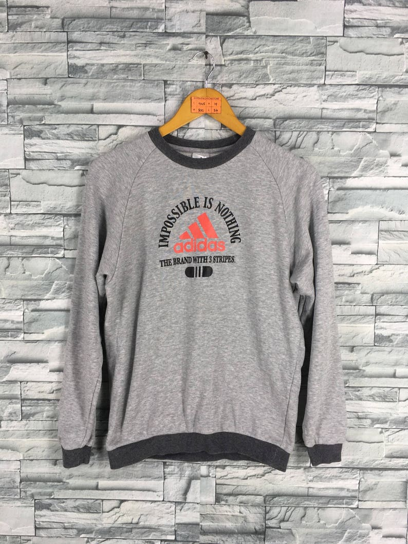 Vintage Orange Adidas Equipment Sweatshirt Jumper