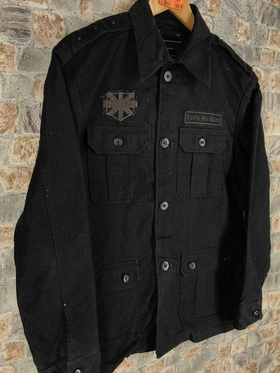 Motards Vintage hommes veste grand Jeans des années 1990 1990 années noir poche quatre Denim Jeans veste vêtements manteau pour homme grande taille efef23