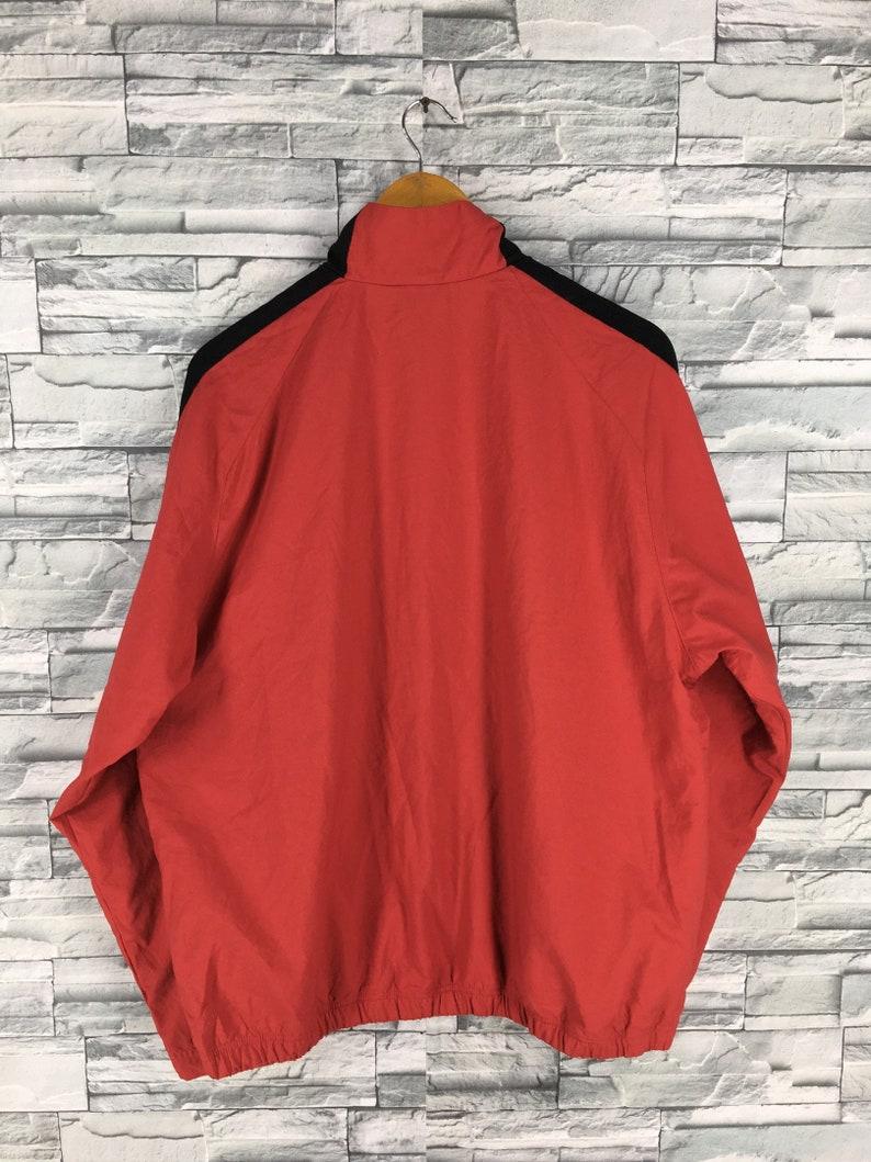 acc344ffc1af Vintage 90 s NIKE Windbreaker Jacket Large Red Nike Swoosh