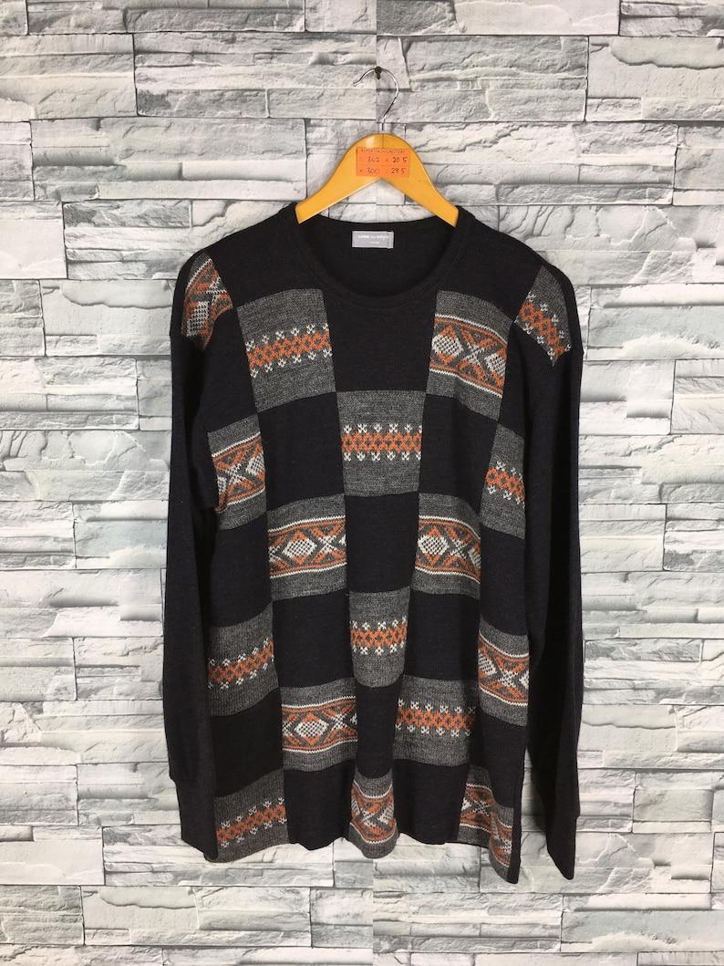 e7096ef6818a2 COMME DES GARCONS Wool Jumper Medium Vintage Comme Des Garcons