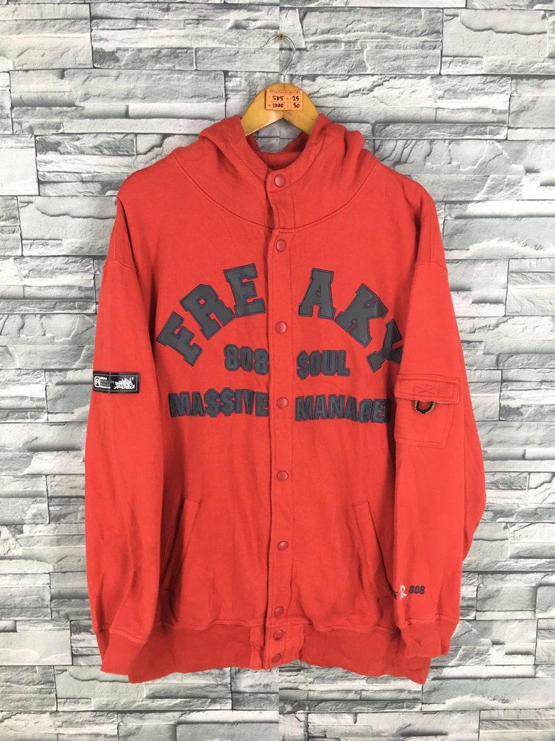 47d6f4f13b8e FREAKY MASSIVE Sweatshirts XLarge Vintage Fubu Hip Hop Rap