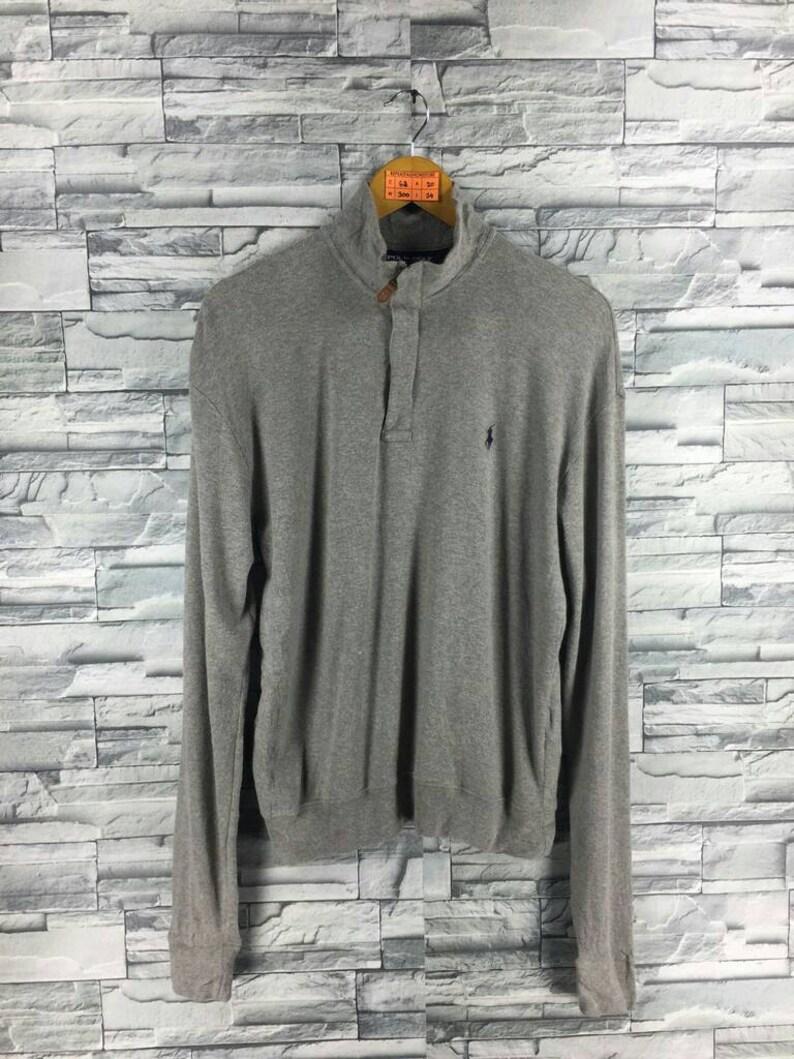 b5119f6c39ab Vintage 90s Polo RALPH LAUREN Sweater Jumper Medium Ralph