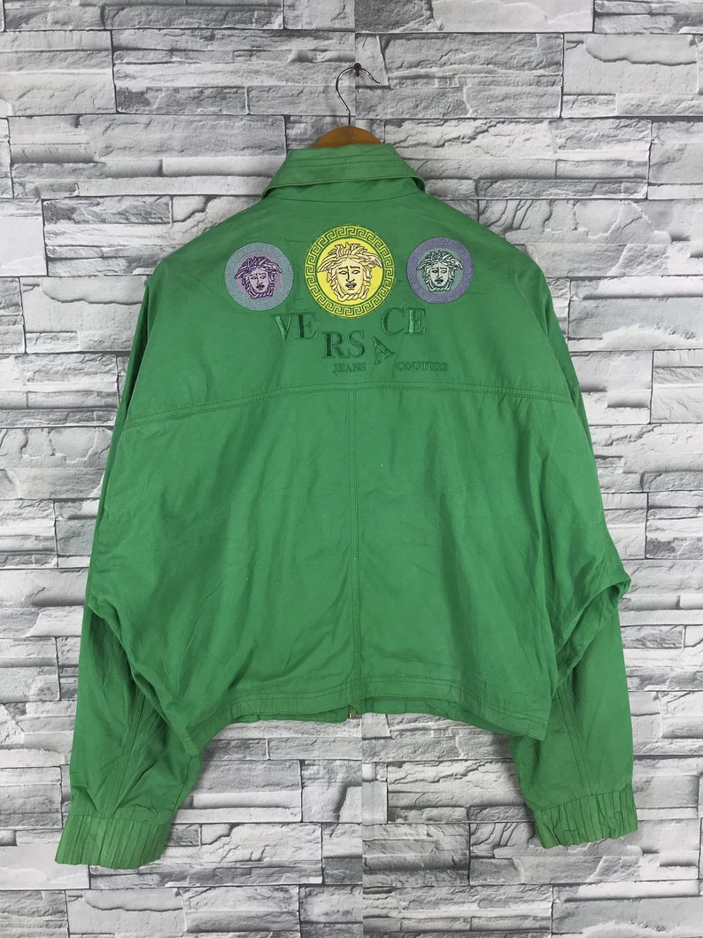 e58a0ec46168c VERSACE Jeans Couture Jacket Crop Large Women Gianni Versace
