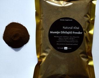 BULK WHOLESALE 5.64 Lb (2.5 Kilograms) Altai Shilajit Powder  Authentic Pure Mumijo, Mumie, Mumio. Altai Mountains (Russian Federation)