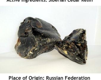 Pure Natural Siberian Cedar Resin 50gms-1kgs (1.76Oz-2Lb).Turpentine;Chewing Gum. Turpentine Balm. Origin From Altai Region of Siberia