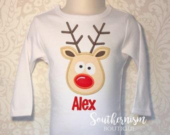 Boys Christmas Shirt, Christmas Shirt, personalized Christmas Shirt, Reindeer Shirt, Holiday Shirt! Christmas Shirt, best christmas shirt