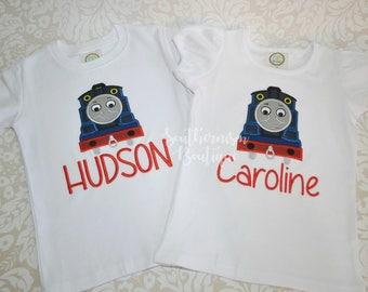 Train Birthday Shirt, Boys Birthday Shirt, Choo Choo Shirt, 1st Birthday, 2nd Birthday, 3rd Birthday Shirt, Personalized Train Shirt, outfit