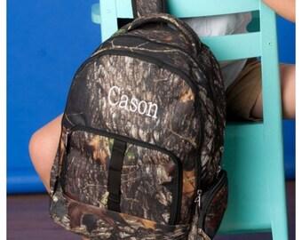 Personalized Backpack, Boys Backpack, blue camo , camo backpack, backpack name, preschool, elementary, middle, custom, monogram backpack