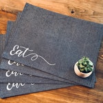 Custom Order - Reversible Painted Placemats