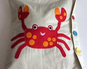 The Clumsy Crab - Soft/Quiet Play Book
