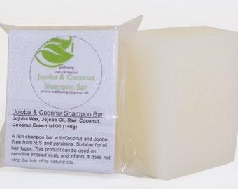 Jojoba & Coconut Shampoo Bar