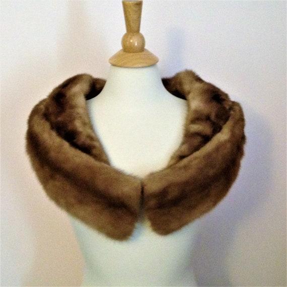 Vintage Fur Cape, Vintage Mink Stole, Vintage Mink