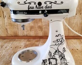 Kitchenaid Decals Etsy