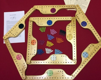 Pegs and Jokers 10 Players FREE SHIPPING!