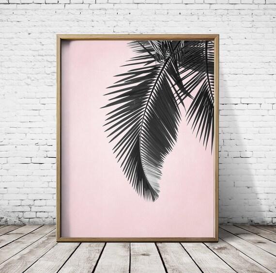 Photograpphy Palm Tree Wall Art Palm Tree Print Palm Tree Art Etsy