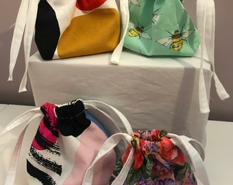 Coin Purse Bridesmaid Gift Bag Jewelry Packaging Bag Reusable Produce Bags 100 Jewelry Packaging Drawstring Pouch