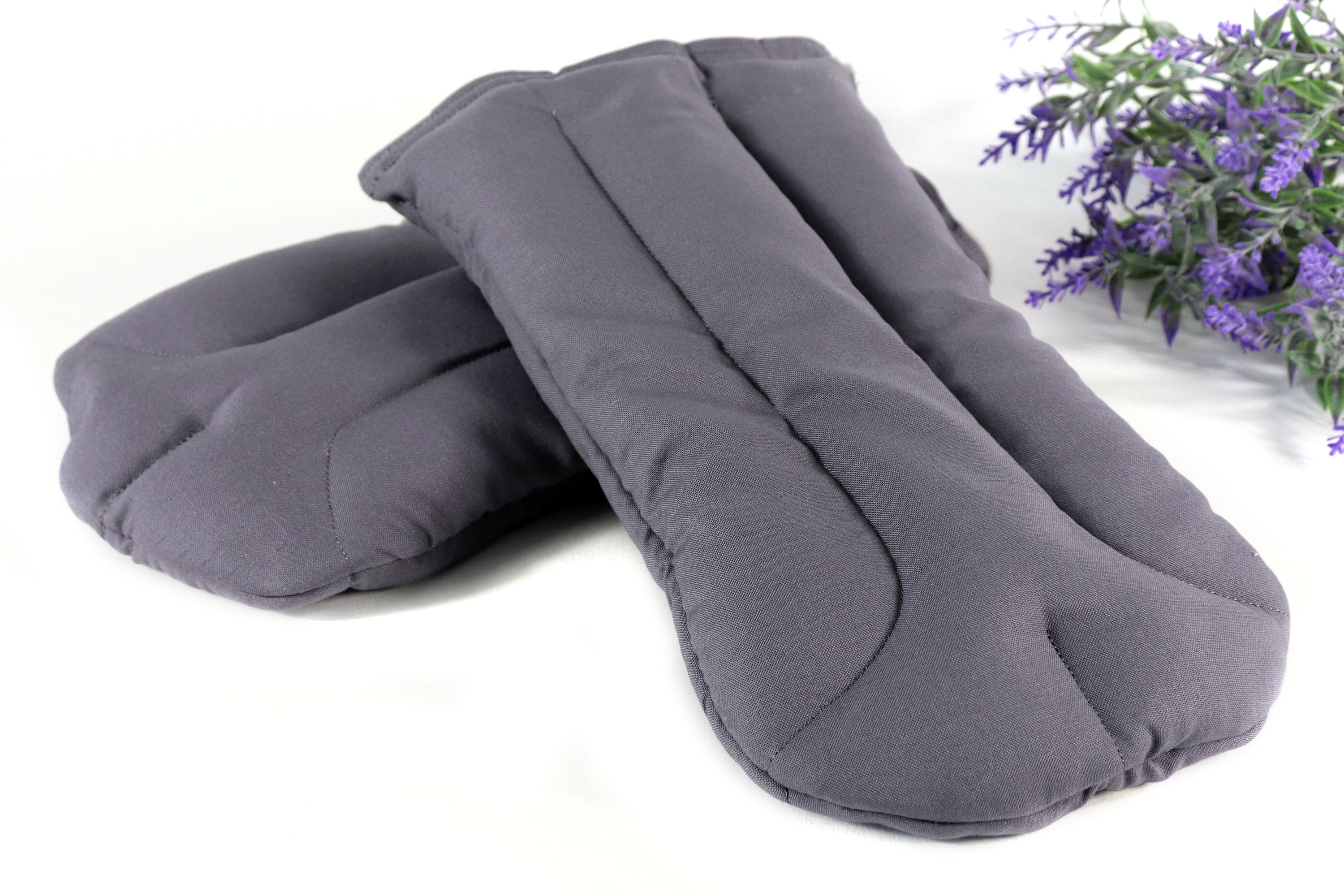 Heated hand warmers from Natural Body Comfort to help keep your hands from freezing