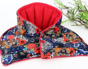 Microwave Heated Neck Wrap for Relaxation at it's BEST! Flax Rice Heating Pad for Arthritis, Stiff & Painful Neck, Pain Relief and more!