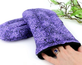 Wrist & Hand Warming Mitts. Heat or Cool Therapy provides Natural Pain Relief for Rheumatoid Arthritis, Carpal Tunnel and more!(Set of 2)