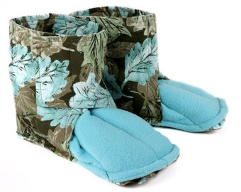 Microwave Foot Warming Booties for Cold Feet & Relaxation