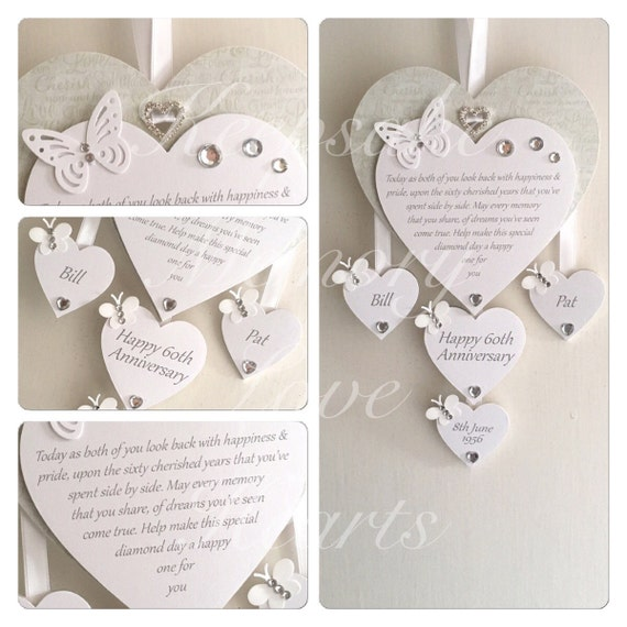 Personalised Wooden Keepsake Heart