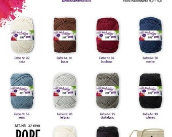 Woolly Hugs Rope Plate 250g Colour 185