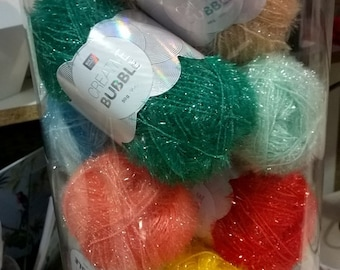 Rico Creative Bubble - effect yarn for washing-up sponges 50g