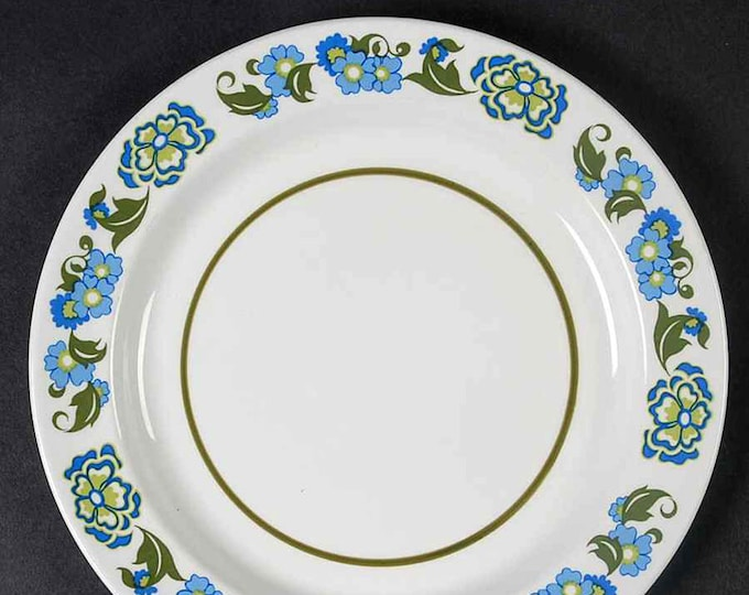 Vintage (1970s) Sears Greenwood bread, dessert, side plate made in Japan. Sold individually.