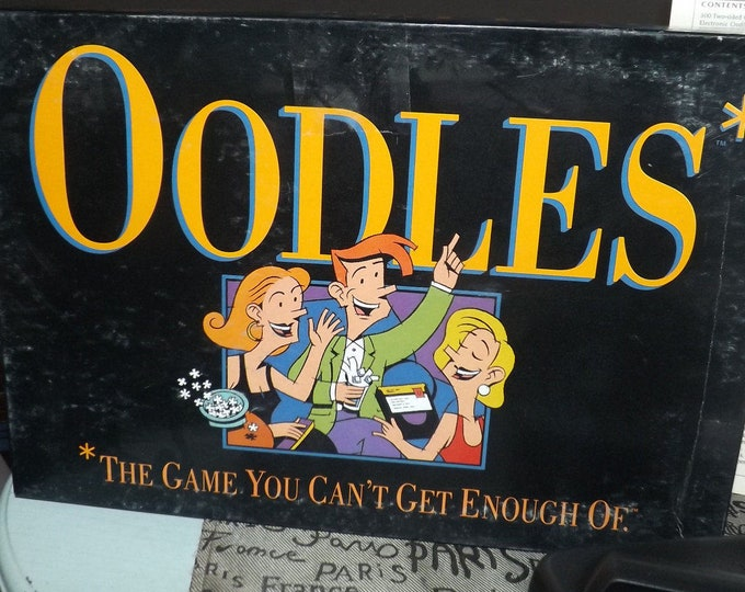 "Vintage (1992) Oodles ""The Game You Can't Get Enough Of"" adult 