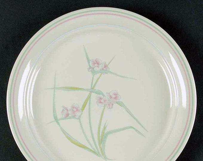 Vintage (1980s) Corelle | Corningware | Corning Spring Pond luncheon or breakfast plate. USA made.