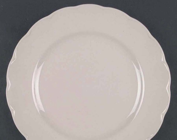 Mid-century Grindley Peach Petal dinner plate.  All peach PetalWare made in England. Sold individually.