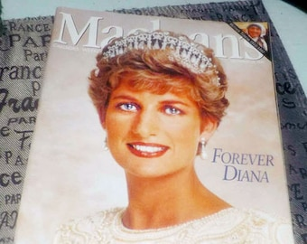 Vintage (September 15, 1997) Macleans magazine special issue on Princess Diana | Forever Diana. Article on Mother Theresa.