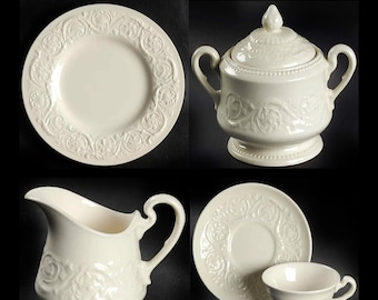 Wedgwood Patrician dinnerware. Queensware line made in England. Choice of pieces.