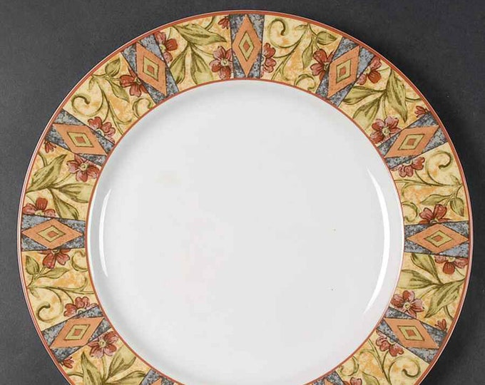 Vintage (1996) Royal Doulton Cinnabar TC1217 large dinner plate.