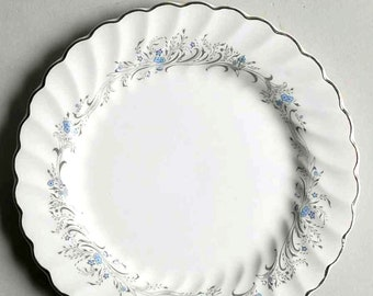 Vintage (1960s) Sovereign Potters Charmian R110-62 bread, dessert, side plate. Sold individually.