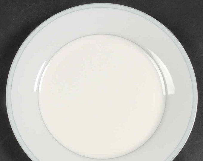 Royal Doulton Gloucester salad or side plate.  Blue band and edge.  Discontinued 2009.