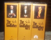 Vintage (1997) The Godfather Collection set of 6 VHS video tapes in sleeve. Paramount Home Video Canada.