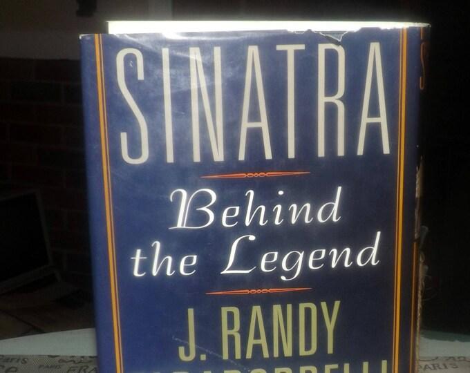 Vintage (1997) Sinatra: Behind the Legend hardcover book w/dust jacket by J. Randy Taraborrelli. Rose Books   Birch Lane Press. Complete.