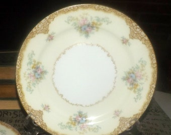 Vintage (1930s) Noritake | Morimura | Hand-painted Nippon Encina salad or side plate made in Japan. Sold individually.