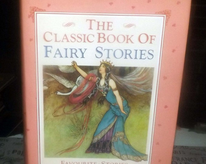 Vintage (1987) The Classic Book of Fairy Stories hardcover children's book published by Lamboll House, London UK. Complete.