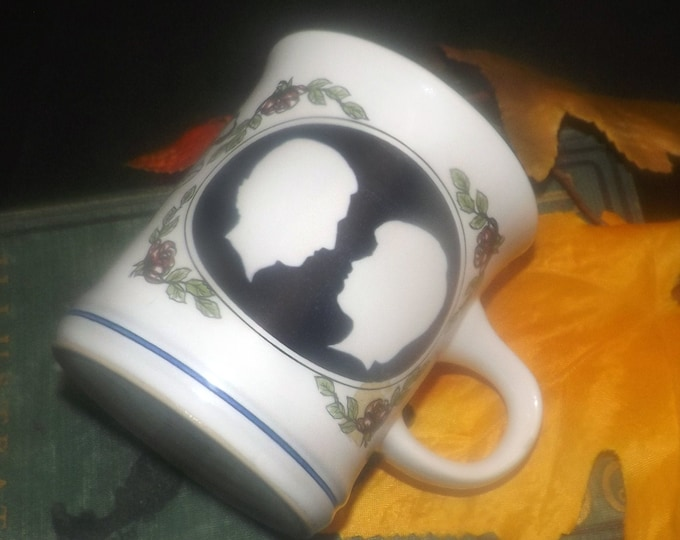 Vintage (1981) Denby Commemorative mug. Royal Wedding of Prince Charles and Lady Diana Spencer.