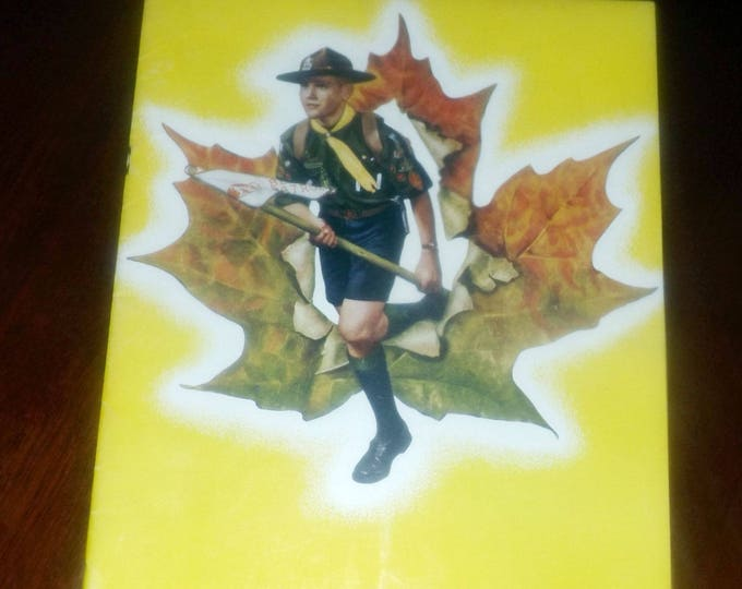 Vintage (June, 1960) The Scout Leader Magazine. The magazine of the Canadian Boy Scouts. Vol. 37 No. 9.  Complete.