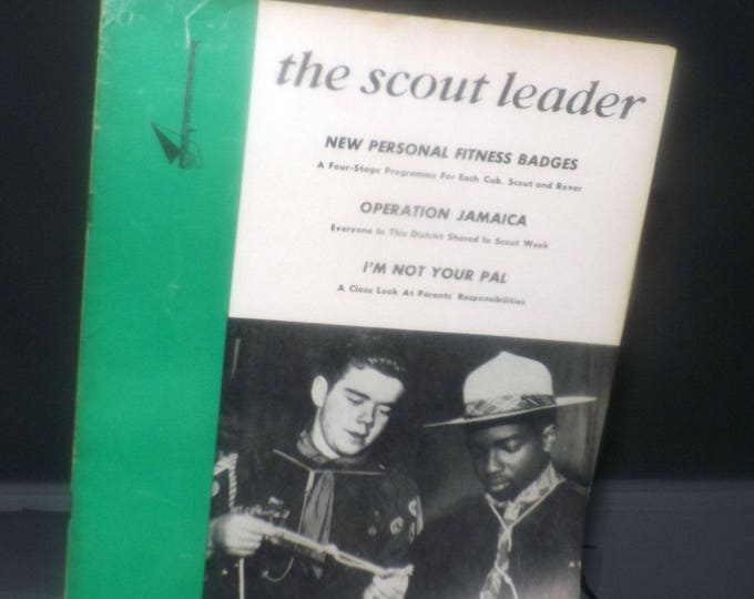 Vintage (December, 1963) The Scout Leader Magazine. The magazine of the Canadian Boy Scouts. Vol. 41 No. 4.  Complete.
