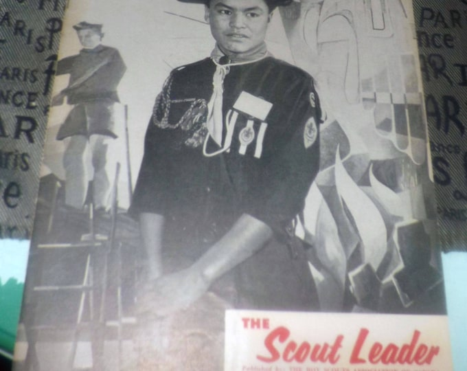 Vintage (March, 1961) The Scout Leader Magazine. The magazine of the Canadian Boy Scouts. Vol. 38 No. 6.  Complete.