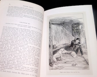Antiquarian (1912) book The Works of Charles Dickens Volume III Oliver Twist and A Child's History of England. Gresham Standard Edition.