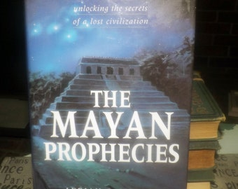 Vintage (1995) hardcover book The Mayan Prophecies: Unlocking the Secrets of a Lost Civilization by Gilbert, Cotterell. Printed in UK.